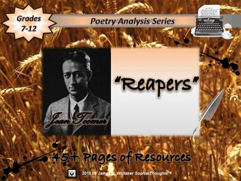 Reapers by Jean Toomer Poem Analysis