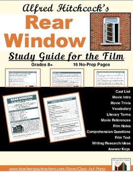Rear Window: Study Guide for Hitchcock's Film