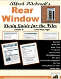 REAR WINDOW Study Guide for the Hitchcock Film   Worksheets   Distance Learning