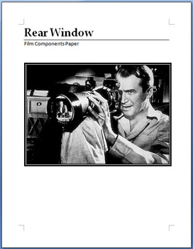 Rear Window components paper