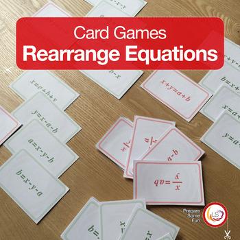 Rearranging Equations Teaching Resources Teachers Pay Teachers