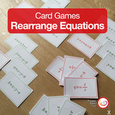 Rearranging Race | card game for the practice of rearrangi
