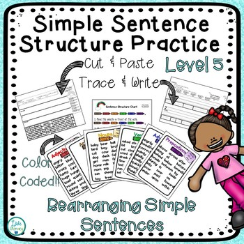 Rearrange Sentences Worksheets & Teaching Resources | TpT