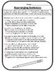 Rearranging Sentences Worksheet Rearranging Sentences Conjunctions Worksheet #1