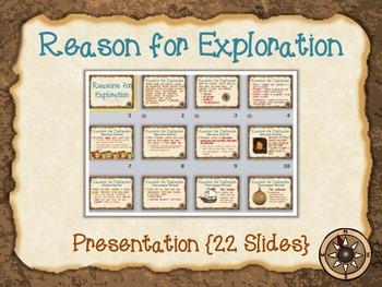 Reasons for Exploration {Bundle}