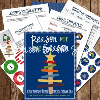 Reason for the Seasons: A Jesse Tree Advent Journey {Big Picture Story Bible Ed}