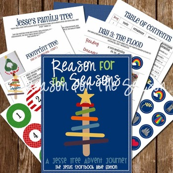 Reason for the Seasons: A Jesse Tree Advent Journey {Jesus Storybook Bible Ed}