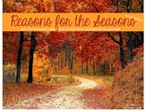 Reason for the Seasons (Book 2 in the Second Four Weeks) - Interactive Journals
