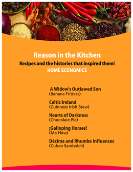 Reason in the Kitchen - Recipes and the Histories that Inspired Them!