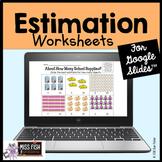 Reasonable Magnitude Estimation Worksheets [for Google Slides™]