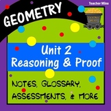 Reasoning & Proof: Using Logic (Geometry - Unit 2)