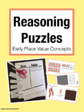 Reasoning Puzzles (Early Place Value Concepts): Math Talk