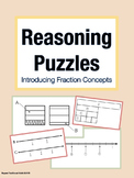 Reasoning Puzzles (Introduction to Fraction Concepts): Math Talk (Gr. 3-4)
