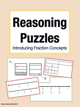 Reasoning Puzzles (Introduction to Fraction Concepts): Mat