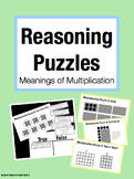 Reasoning Puzzles (Meaning of Multiplication):Activities f