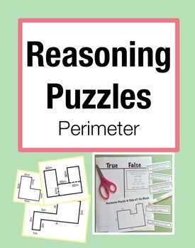 Reasoning Puzzles (Perimeter): Activities to Engage in Math Talk (Gr. 3-4)