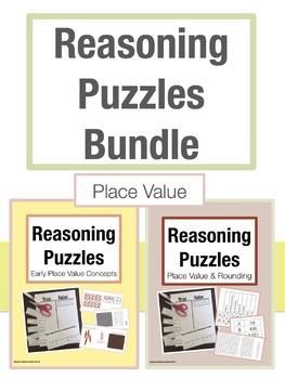 Reasoning Puzzles Place Value Bundle: Grades 2-4