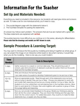 Reasoning Puzzles Sampler: Activities for Math Talk (Gr. 2-4)