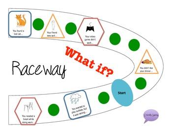 Reasoning Raceway - A reasoning game