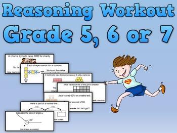 Reasoning Workout Grade 5, 6 and 7