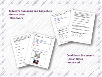 Reasoning and Proof Lesson Plan Bundle