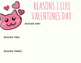 Reasons I Like Valentines Day