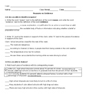 Reasons and Evidence Unit