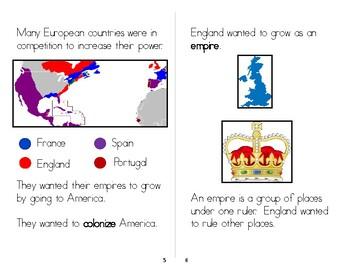 Reasons for Colonization Mini-Book