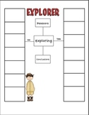 Reasons for Exploring Graphic Organizer