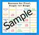 Reasons for Final E Bingo & Wipe Out Games