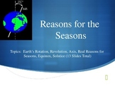 Reasons for Seasons PowerPoint
