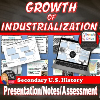 Reasons for the Growth of Industrialization Lecture (U.S. History)