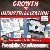 Reasons for the Growth of Industrialization in America Lecture (Print & Digital)
