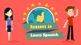 Reasons to learn Spanish Powerpoint Presentation
