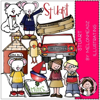 Rebecca's Stuart bundle by Melonheadz COMBO PACK