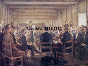 Rebellions, 1831-1832