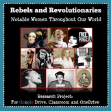 Women's History Month - Research Project: Notable Women Throughout Our World