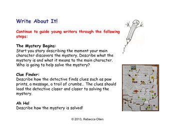 Rebus Mystery Writing Puzzle
