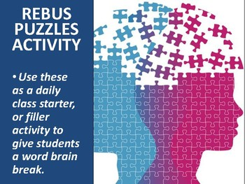 Rebus Puzzles Activity Presentation