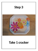 Rebus Recipe: Flower Crackers