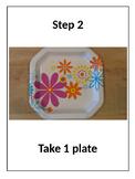 Rebus Recipe: Flower Crackers