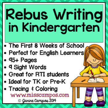 Rebus Writing in Kindergarten