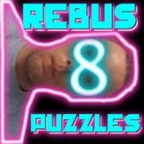 "Rebus ""Wuzzle"" Puzzle Worksheet 8 - teachmehowtoALGE"