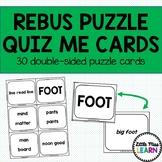 Rebuz Puzzle QUIZ ME Cards