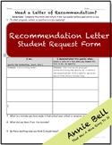 Rec Letter Request - Student Survey