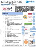 Recap by SWIVL Quick Tech Guide