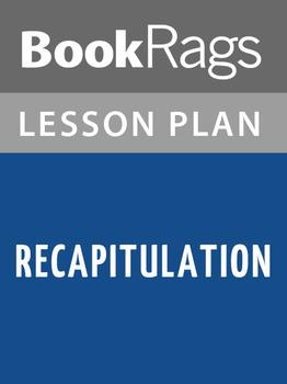 Recapitulation Lesson Plans