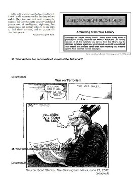 Recent American Issues 1970s-Present DBQ Inquiry