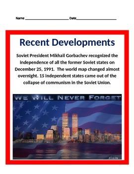Recent Developments in History BUNDLE