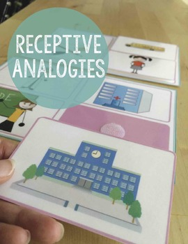 Analogies - Receptive Picture Choices for Young Learners, Logic, Speech Therapy